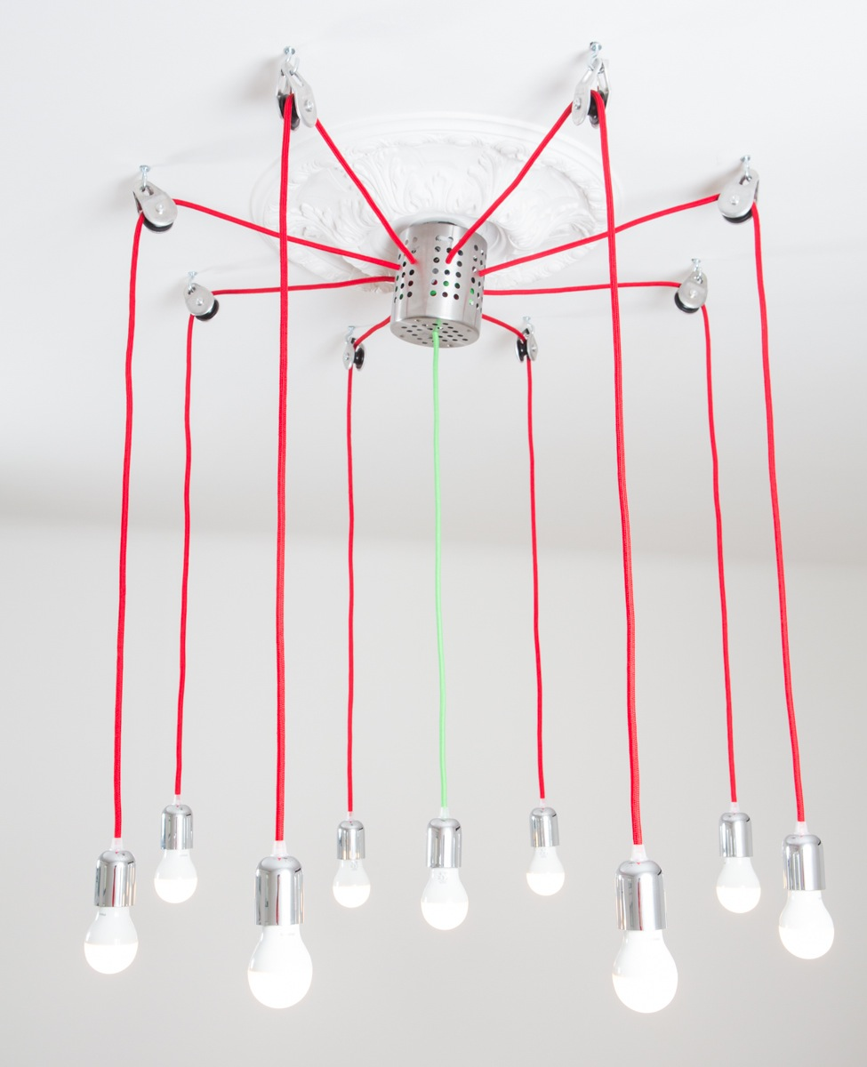 Diy chandelier led chandelier gallery for Diy led chandelier
