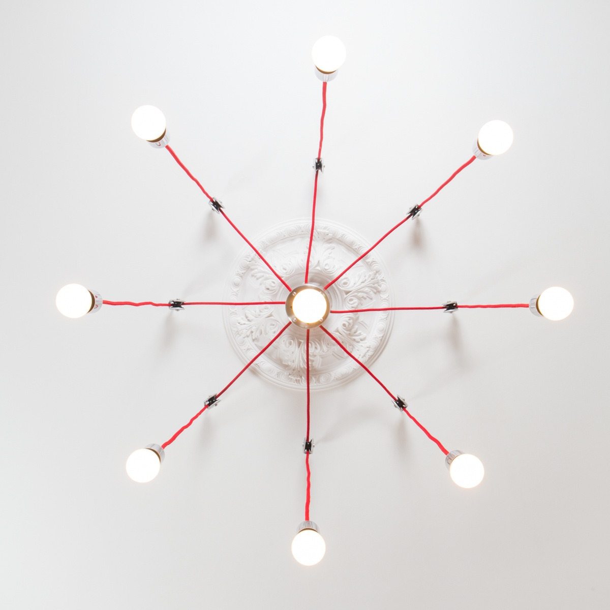Minimaler LED Luster