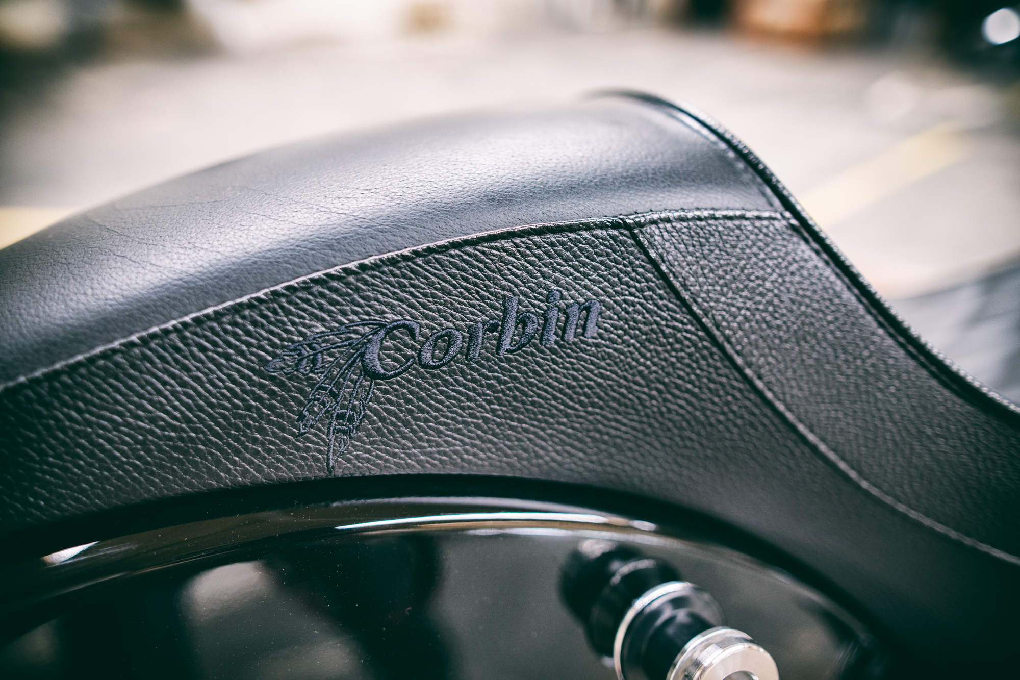 Indian Scout Corbin Saddle