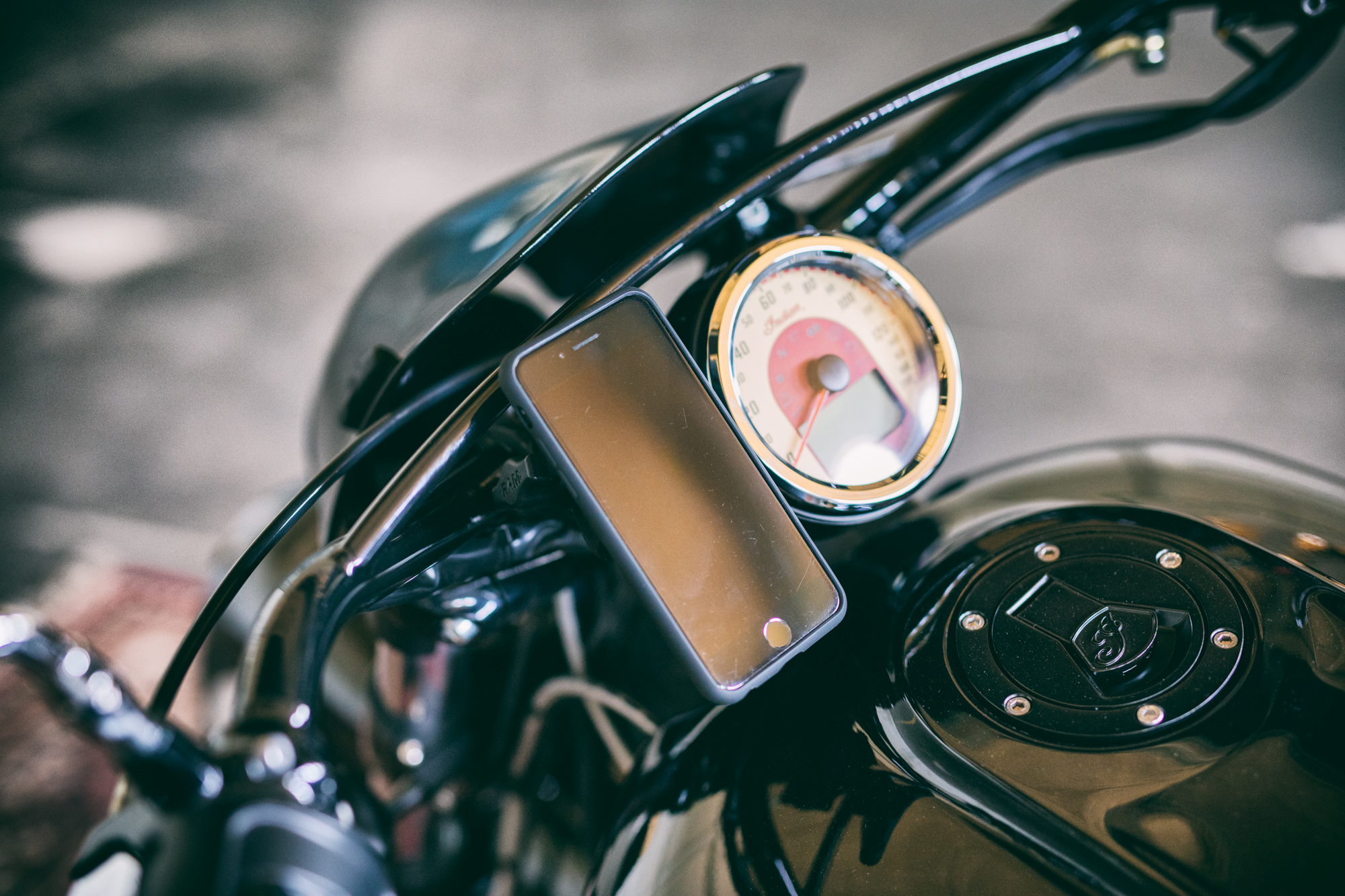 Indian Scout SP Connect