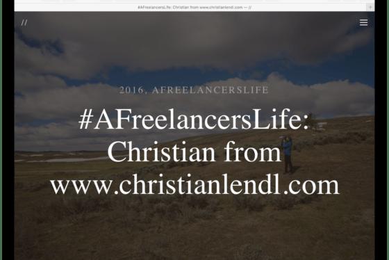 #AFreelancersLife