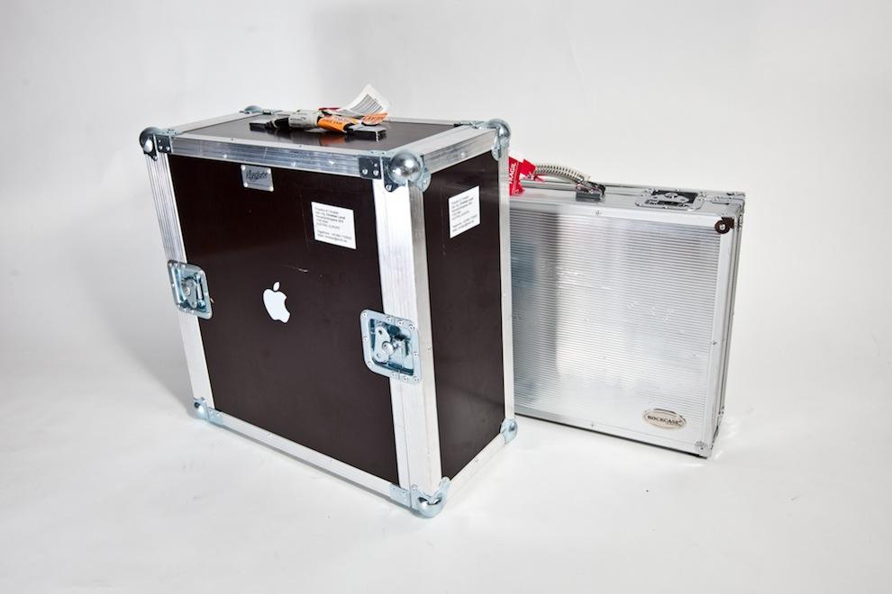 Flightcase für Mac Pro und Monitor