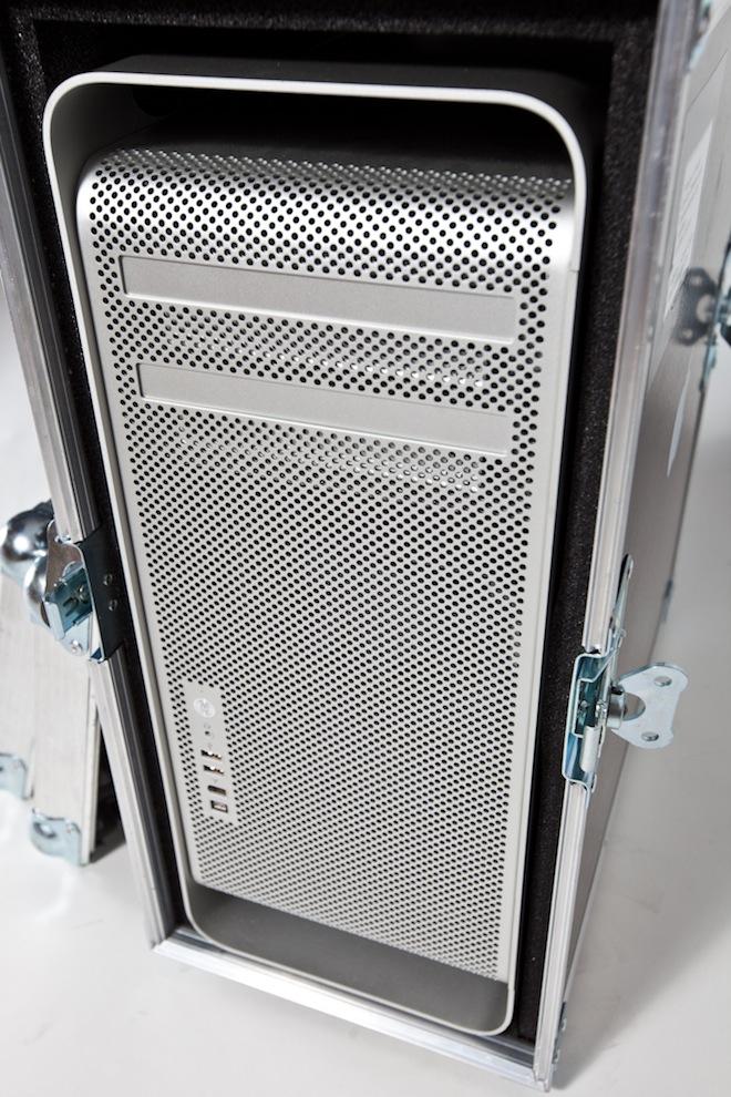Flightcase für Mac Pro