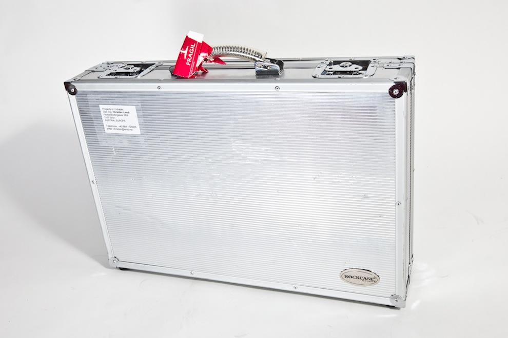 Flightcase für Monitor
