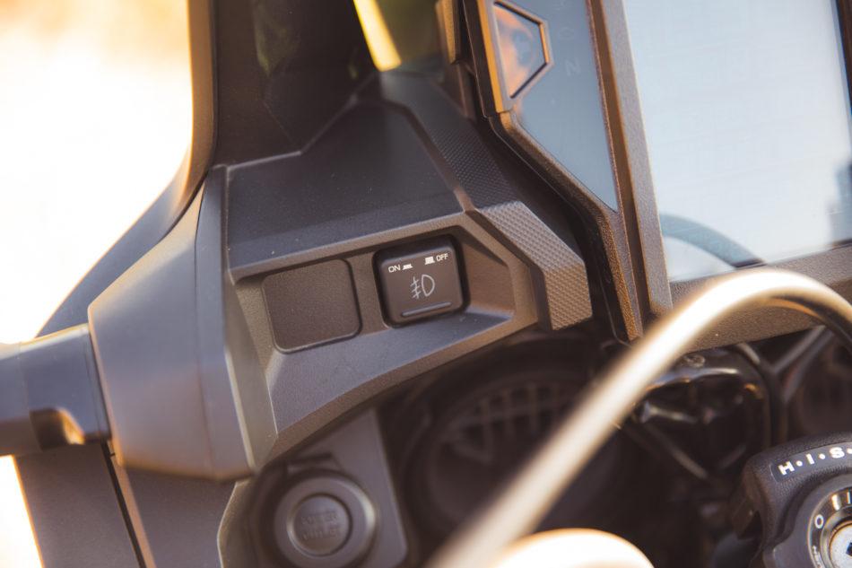 Schalter für Fog Lights