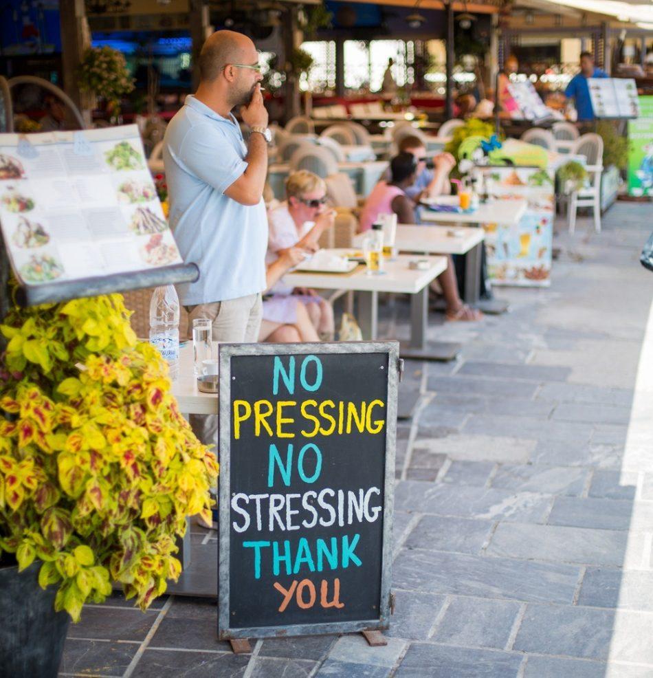 No Stress in Crete