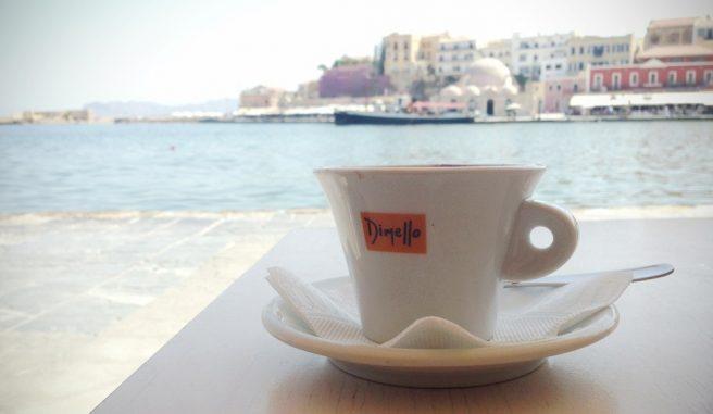 Espresso in Chania