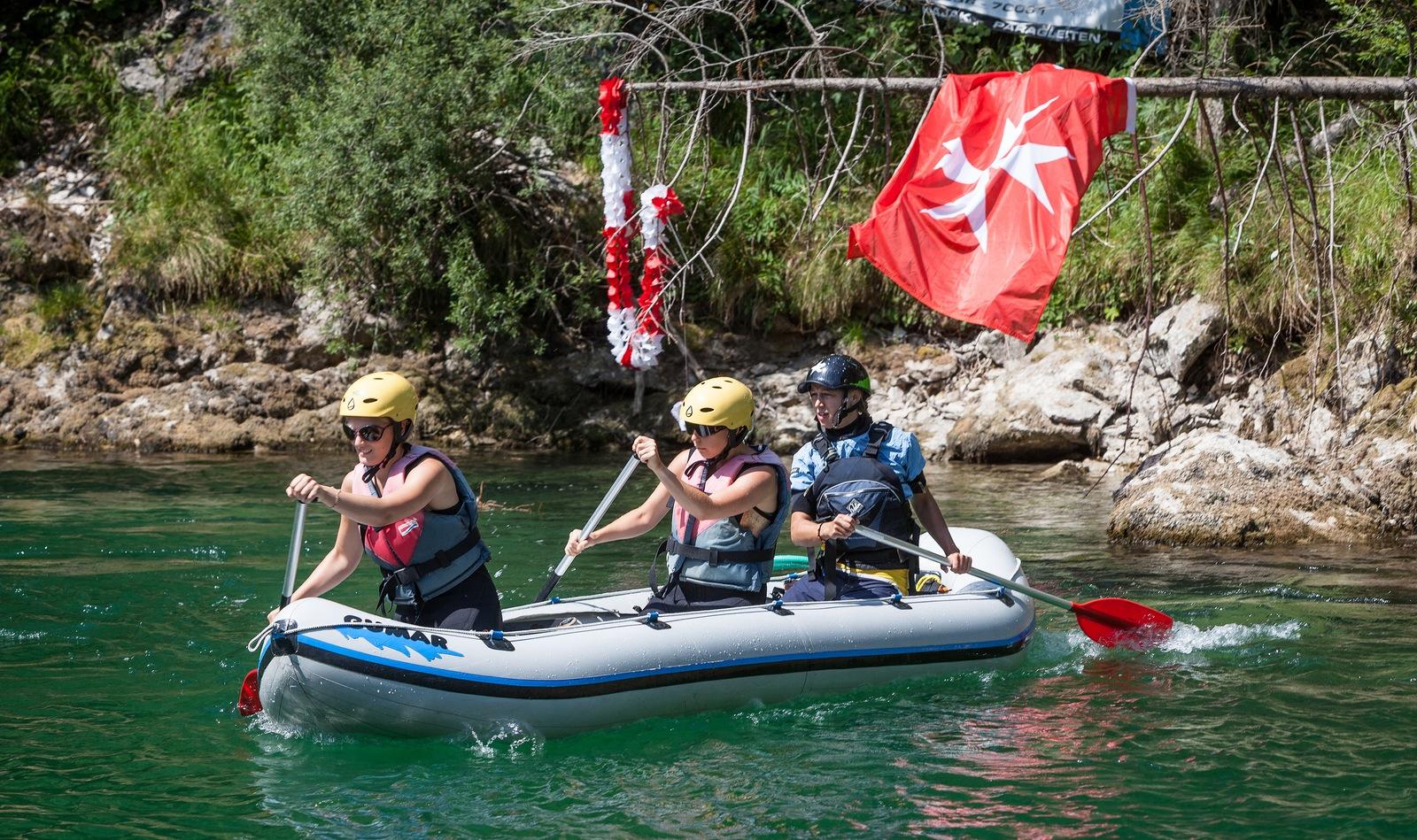 Malteser Wildwassercamp (Foto: Mario Habenbacher)