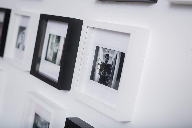 Polaroid wand christian lendl 39 s blog for Selbstgemachte bilderrahmen