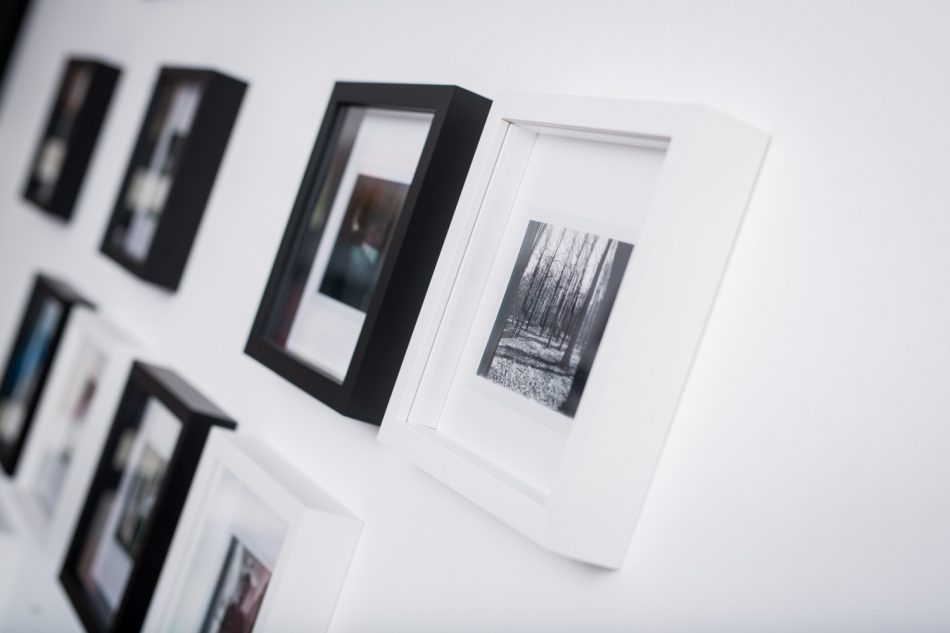 Polaroid-Wall