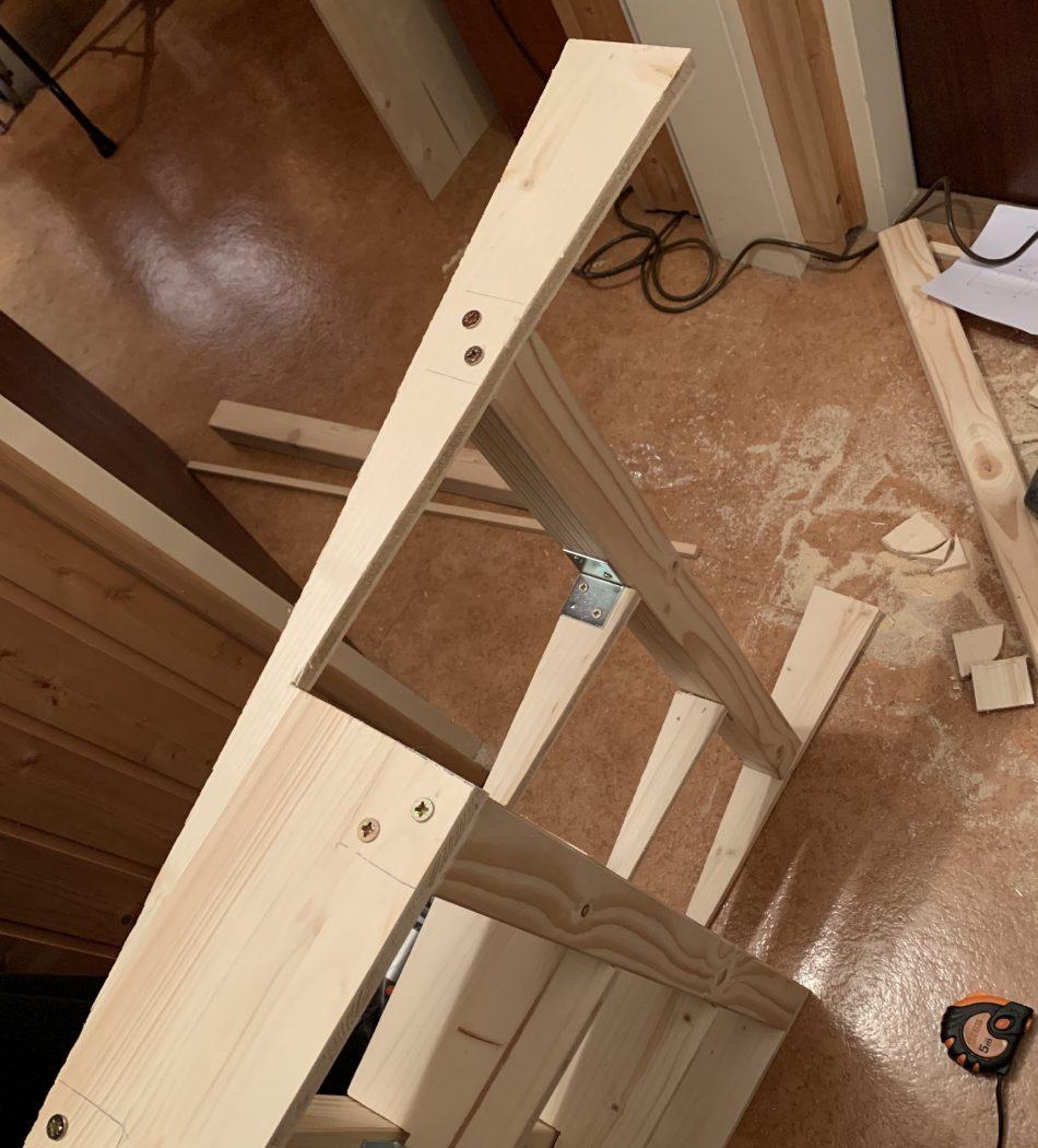Wood Ramp Underconstruction